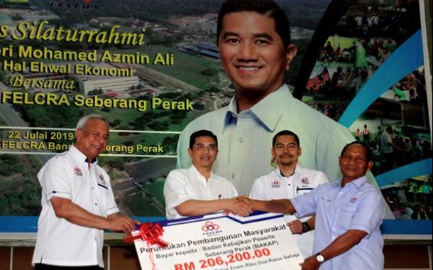 Kerajaan Lulus RM34 Juta Untuk Sambung Bina Rumah Kedua Generasi Felcra